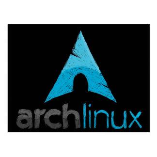 Arch Linux Logo Postcard