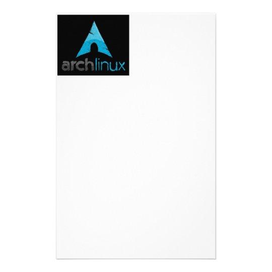 Arch Linux Logo Stationery