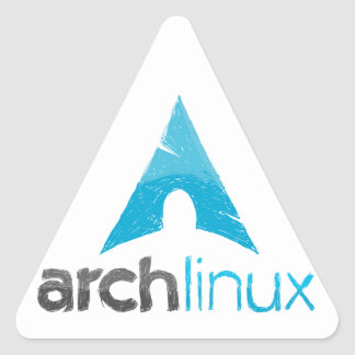 Arch Linux Logo Triangle Stickers