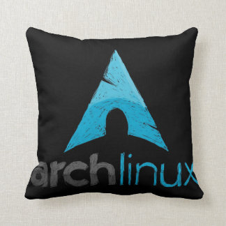 Arch Linux Logo Throw Pillow