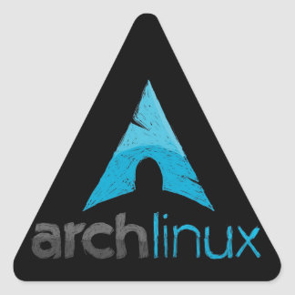 Arch Linux Logo Triangle Sticker