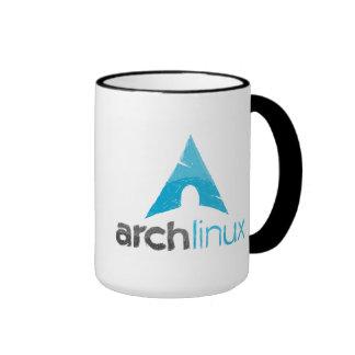 Arch linux/ÑU freedom mug Taza