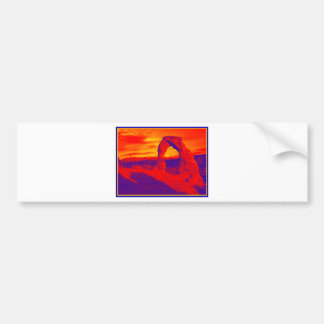 Arch Magical Bumper Sticker