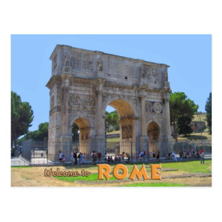 Arch of Constantine Rome Postcard