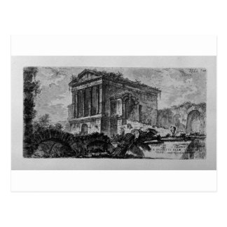 Arch of Pula in Istria near the port by Giovanni Postcard