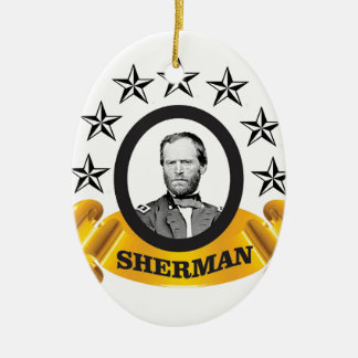 arch of sherman cw ceramic ornament