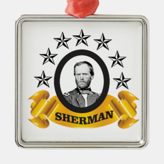 arch of sherman cw metal ornament