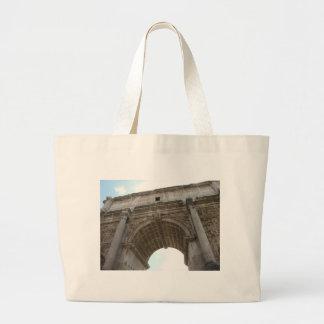 Arch of Titus Jumbo Tote Bag