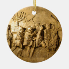 Arch Of Titus Ceramic Ornament at Zazzle