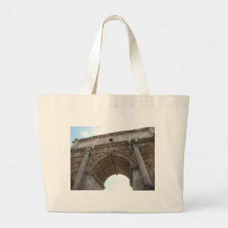 Arch of Titus Large Tote Bag