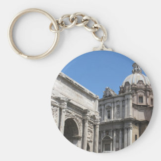 Arch of Titus Rome - Classical Architecture Keychains