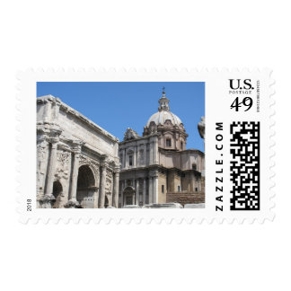 Arch of Titus, Rome -   Classical Architecture Stamp