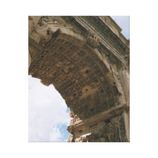Arch of Titus, Rome - Wrapped Canvas Print