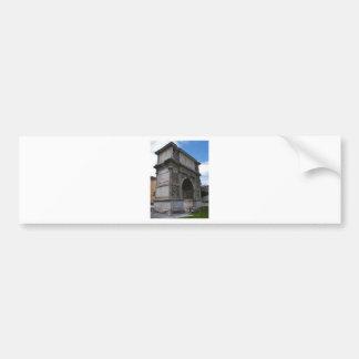 Arch of Trajan. Bumper Sticker