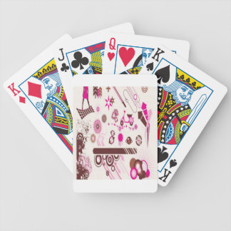 Arch ornament element design bicycle card decks