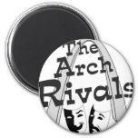 Arch Rivals Improv Comedy Schwag Fridge Magnets