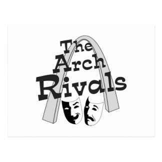 Arch Rivals Improv Comedy Schwag Postcard