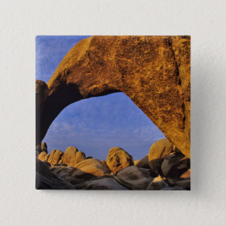 Arch Rock at Joshua Tree National Park in Pinback Button
