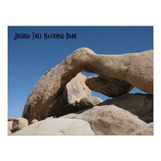 Arch Rock -Joshua Tree Poster