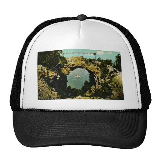 Arch Rock Mackinac Island, Michigan 1911 Trucker Hat