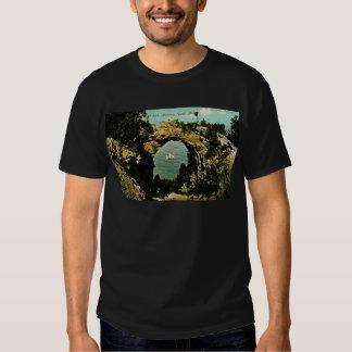 Arch Rock Mackinac Island, Michigan 1911 T-Shirt