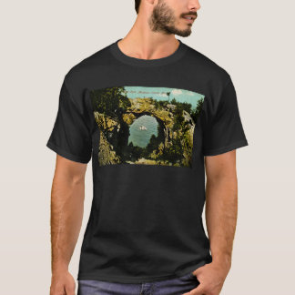Arch Rock Mackinac Island, Michigan 1911 T-Shirt