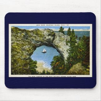 Arch Rock Mackinac Island, Michigan Mouse Pad