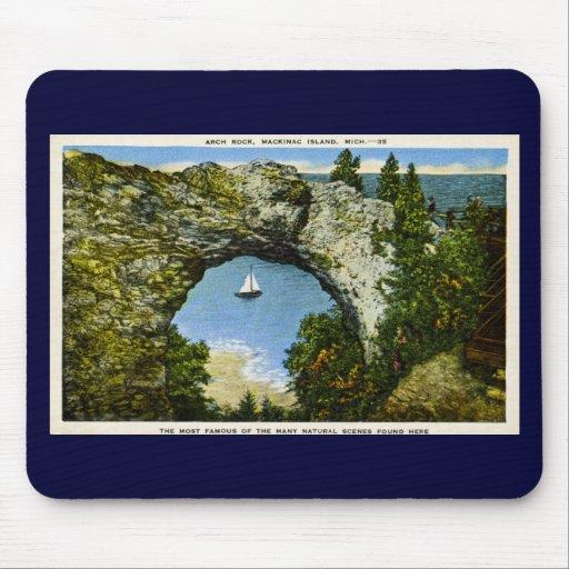Arch Rock Mackinac Island, Michigan Mousepads