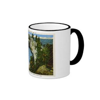 Arch Rock Mackinac Island Michigan Mugs