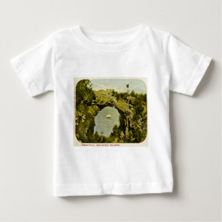 Arch Rock, Mackinac Island Vintage Baby T-Shirt