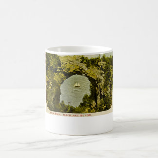 Arch Rock, Mackinac Island Vintage Coffee Mug
