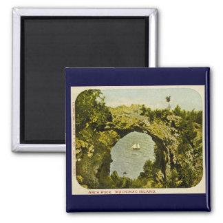 Arch Rock, Mackinac Island Vintage Magnet