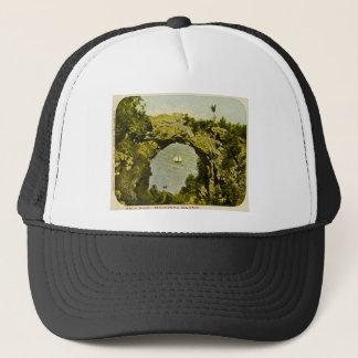 Arch Rock, Mackinac Island Vintage Trucker Hat