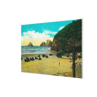 Arch Rocks and Maxwell Point Gallery Wrap Canvas