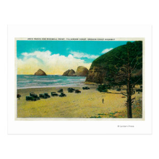 Arch Rocks and Maxwell Point Postcard