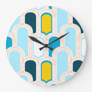 Arch-Tropic Round (Large) Wall Clock