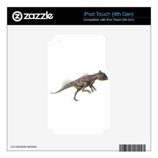 Archaeoceratops Dinosaur in Side Profile Skin For iPod Touch 4G