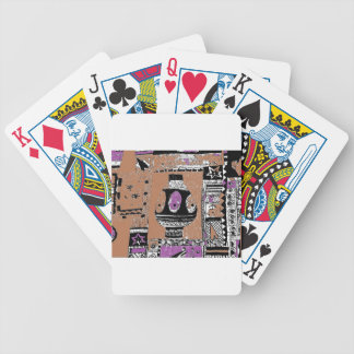 Archaeological Dig Design Bicycle Playing Cards