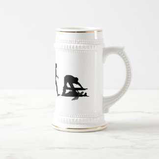 Archaeologist  archeology site lovers gifts beer stein
