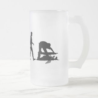 Archaeologist  archeology site lovers gifts frosted glass beer mug