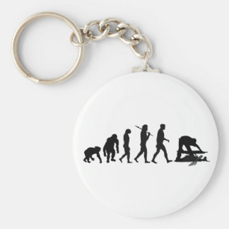 Archaeologist  archeology site lovers gifts basic round button keychain