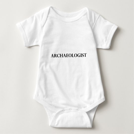 Archaeologist Baby Bodysuit