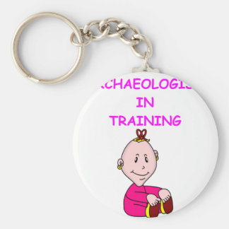 archaeologist baby key chains