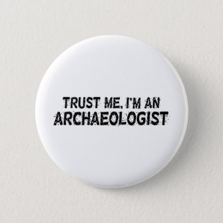 Archaeologist Button