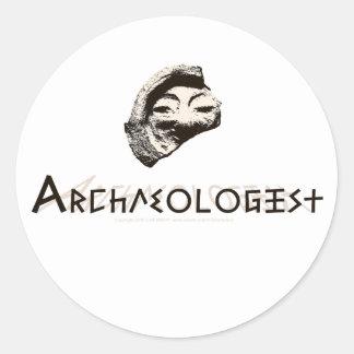 Archaeologist Classic Round Sticker