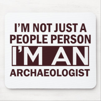 archaeologist design mouse pad