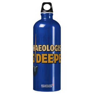 Archaeologist Dig Aluminum Water Bottle