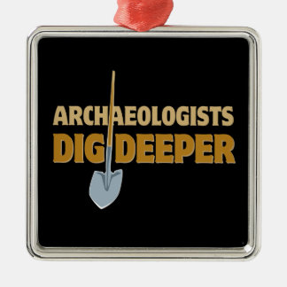 Archaeologist Dig Christmas Tree Ornament