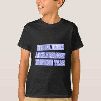 Archaeologist Drinking Team T-Shirt
