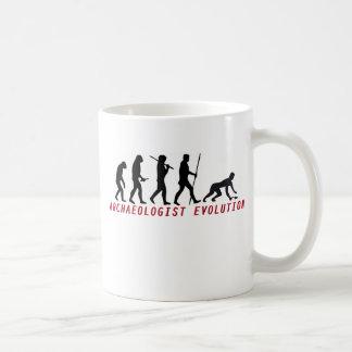 archaeologist evolución tazas de café